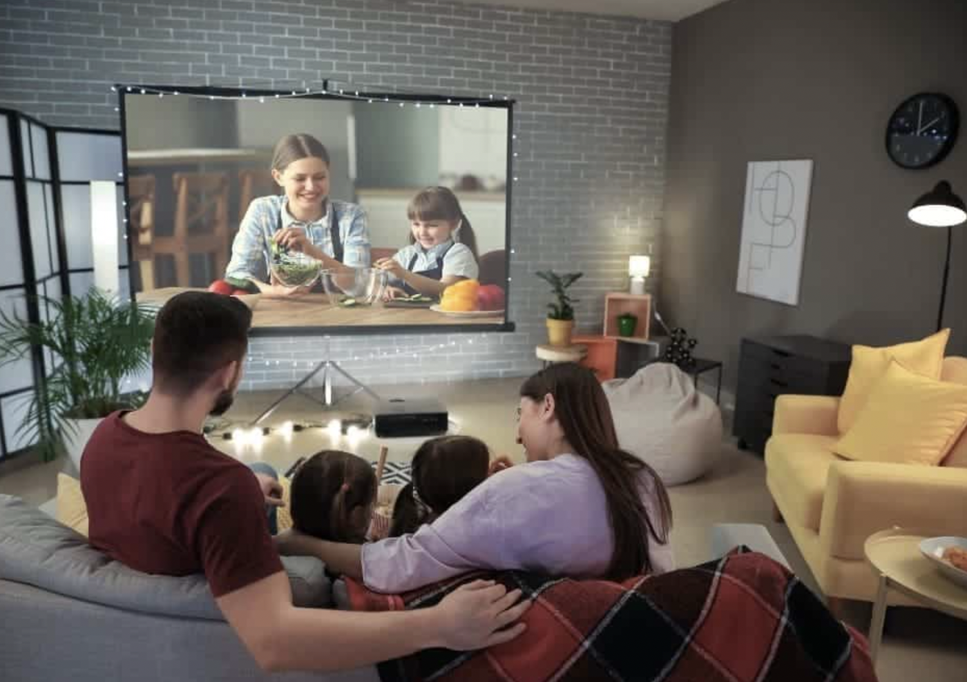 10 Fun Things You Can Do with a TV Projector