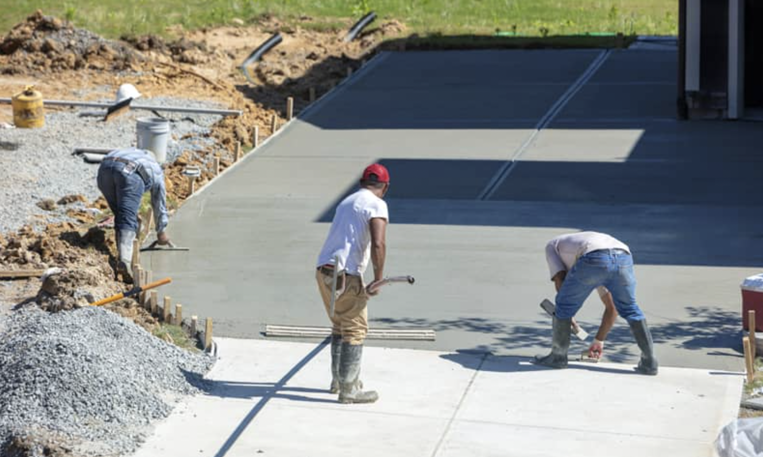 Different Kinds of Concrete Flatwork