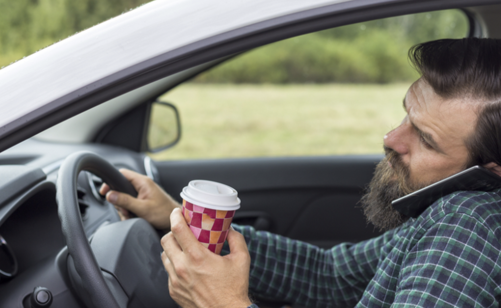 How to report distracted drivers